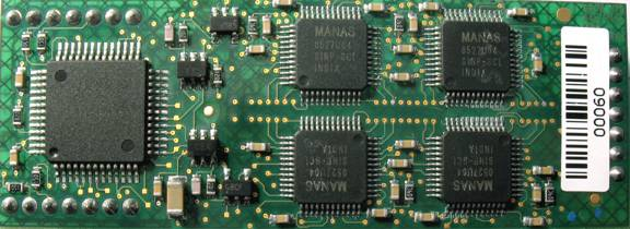 Instrument with MANAS Chip